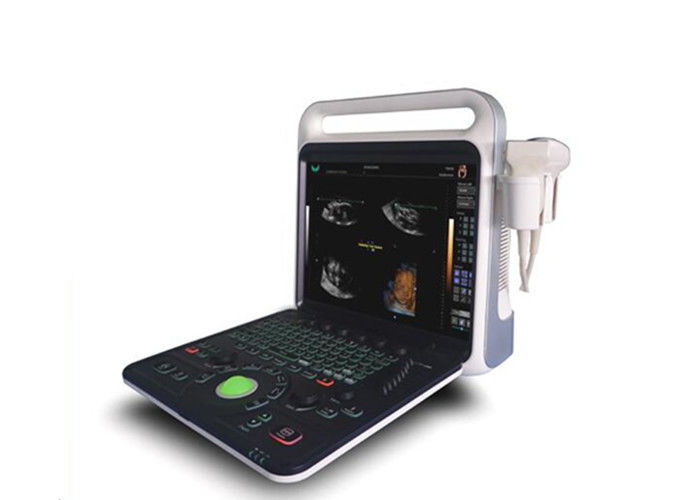 Portable Color Doppler Machine PW Function 2 Probe Connectors With Multiple Image Modes