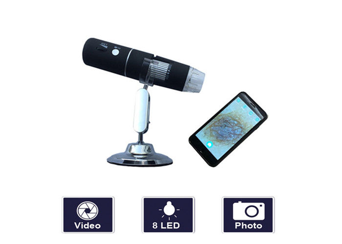 Magnifier 1000 Times Handheld Video Dermatoscope Wireless Skin And Hair Scanner